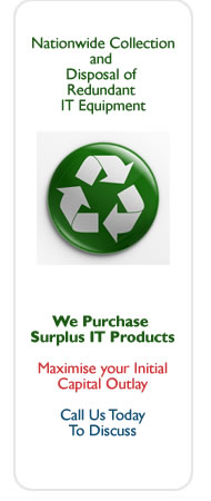 We Purchase Surplus IT Equipment